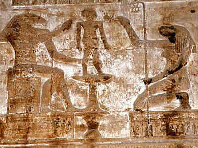 Dendera Khnum Heqet