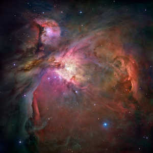 Star Forming Orion Nebula