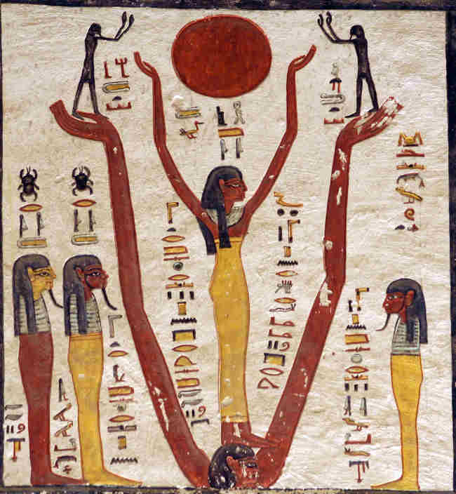 Ramesses IV Electric Sun
