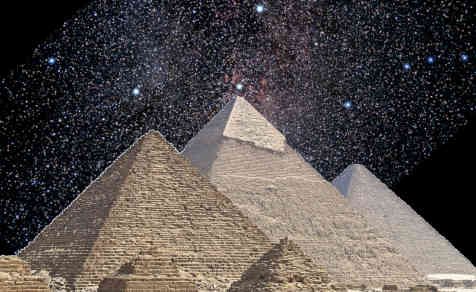 Pyramids of Orion
